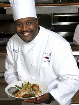 Black Chef Kitchen Rugs