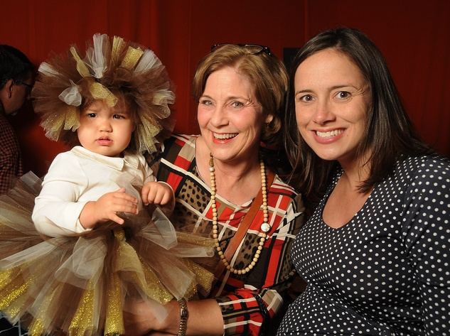 5 Ellie Frazier, from left, with Jeannie and Mary Frazier at the M.D. Anderson Kids Halloween October 2014