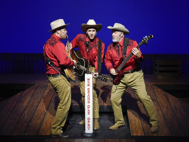 Ring of Fire cast at WaterTower Theatre