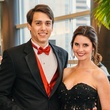 1 Michael Trevino and April White at the Memorial Hermann Gala April 2014