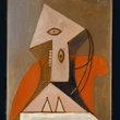 Picasso, Women in Red Chair, original, The Menil