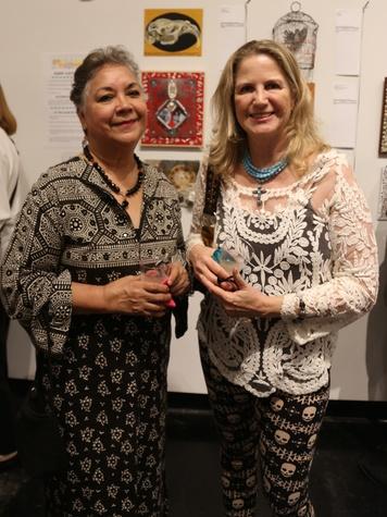 Gala and Retablo Silent Auction 2014, Lawndale Art Center, Dia De Los, Muertos