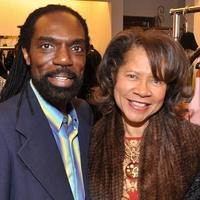 Kevan Hall party, November 2012, Kevan Hall, Merele Yarborough, Harriet Gertner