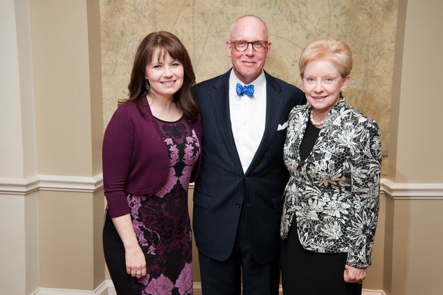 193 Alison Comstock Moss, from left, with Paul and Patte Comstock at the River Oaks Chamber Orchestra Gala September 2014