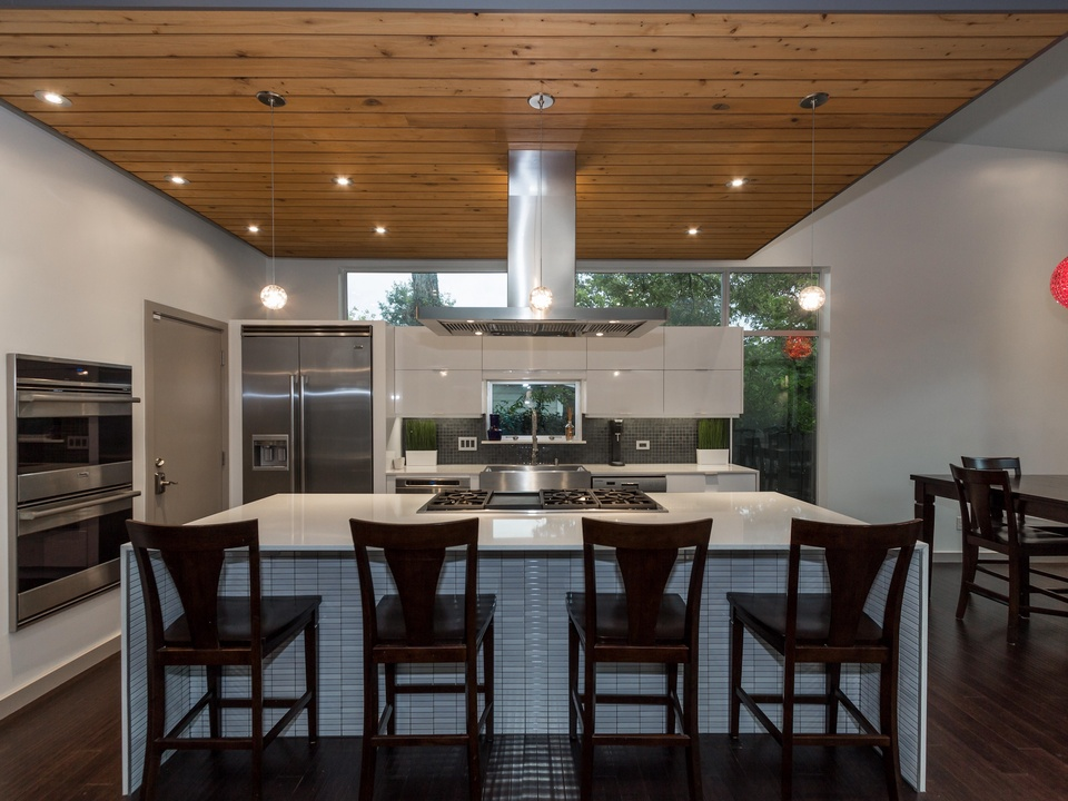 Austin Modern Home Tour 2014 4503 Oakmont Blvd. kitchen