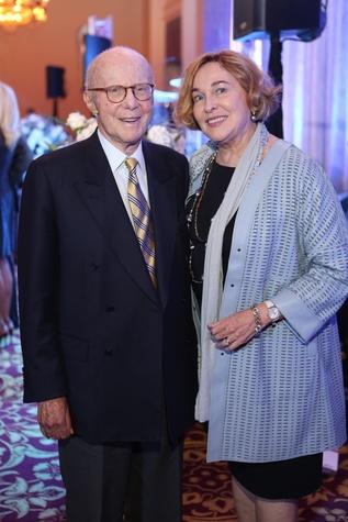 Blue Cure Gala, April 2016, Gerald Hines, Barbara Hines