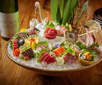 Roka Akor sashimi platter