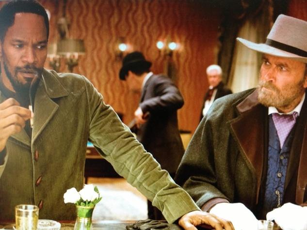 Joe Leydon, Mondo Cinema_Django, Django Unchained, December 2012, Django meets Django, Jamie Foxx, Franco-Nero, Django Unchained
