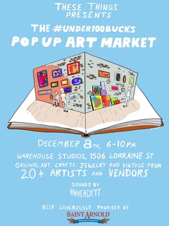 The #under100bucks Pop Up Art Market