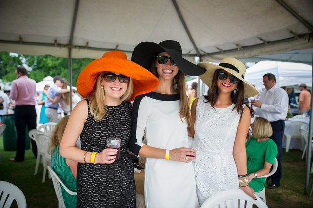 Yellowstone Academy,  polo party, May 2015 Margaret Pearce, Ashley Schulte, Morgan Bocca