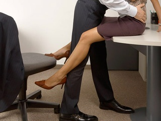 Having sex in your office