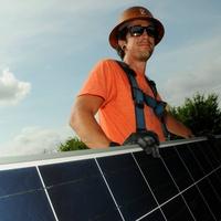 Houston Solar Tour panel installation