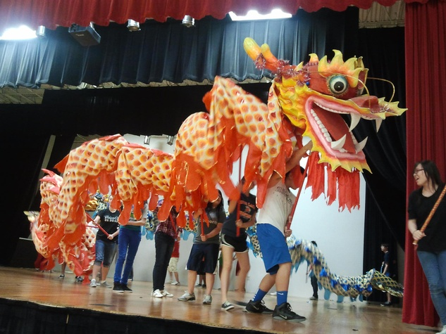 Chinese Community Center of Houston dragon dance