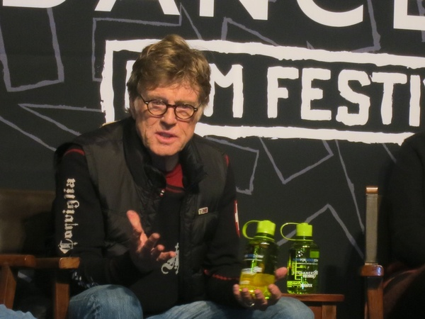 Robert Redford, Sundance Film Festival, January 2013