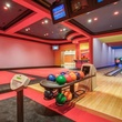 Bowling alley at Deion Sanders house in Prosper
