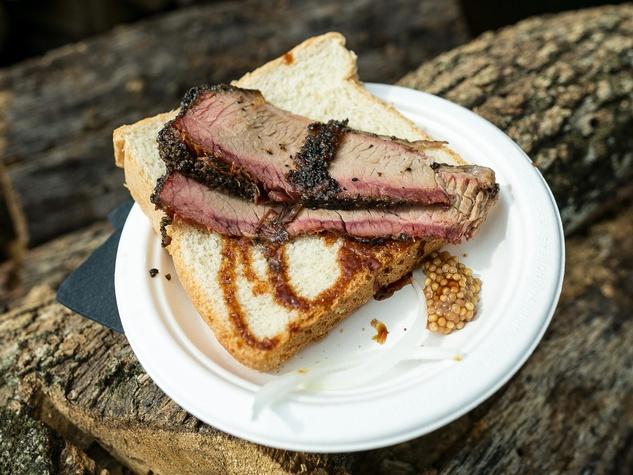 Southern Smoke 2017 Aaron Franklin barbecue brisket