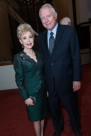 84 Margaret Alkek Williams and Jim Daniel at the Leipzig Gewandhaus concert and reception November 2014