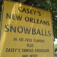 Austin Photo: Places_Food_caseys_new_orleans_snowball_sign