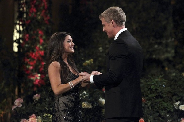 Tierra and Sean on the Bachelor episode 1