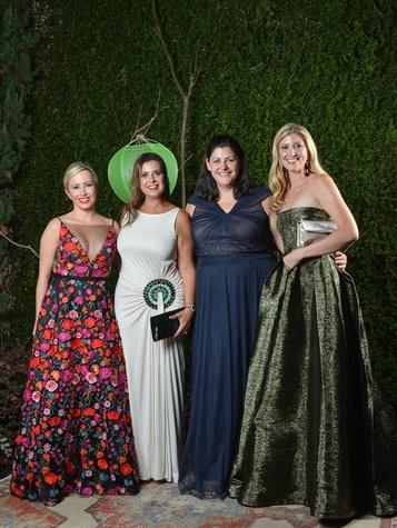 Stephanie Seay, Lana Constantine , Kay Wood, Hope Schultze, Jade Ball 2017