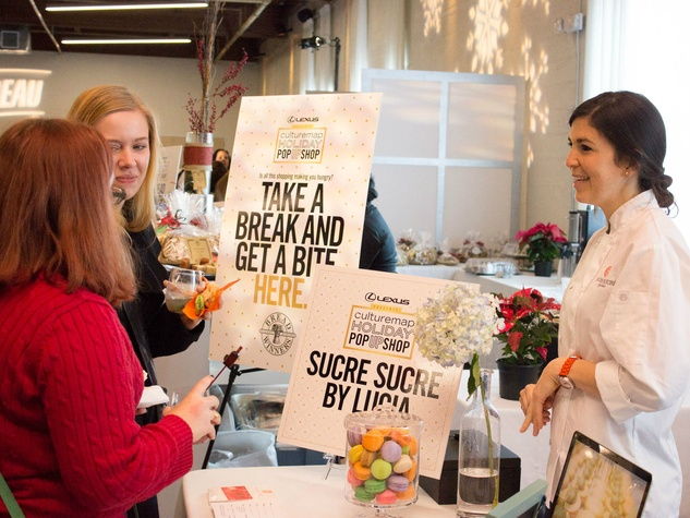 Sucre Sucre by Lucia at CultureMap Holiday Pop-up Shop 2014
