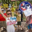 Photo of protesters in the Dallas March Against Monsanto
