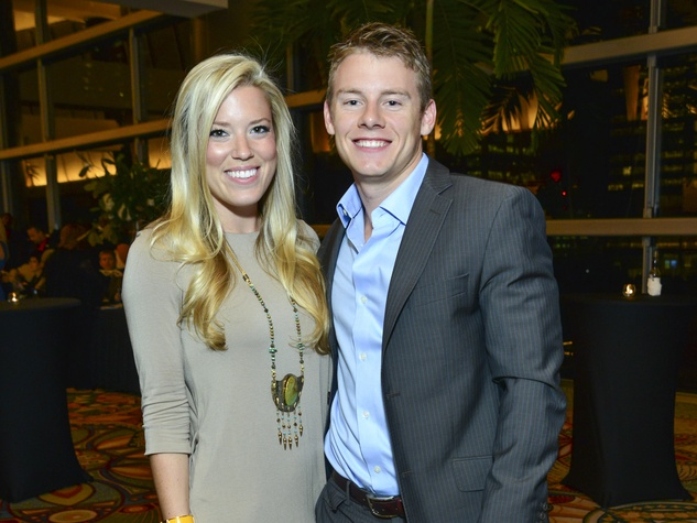 21 Holly A.N. Smith and Austin Alvis at the March of Dimes Signature Chefs event October 2013