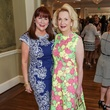 9616 Barbara Van Postman, left, and Kathi Rovere at the National Kidney Foundation luncheon May 2014