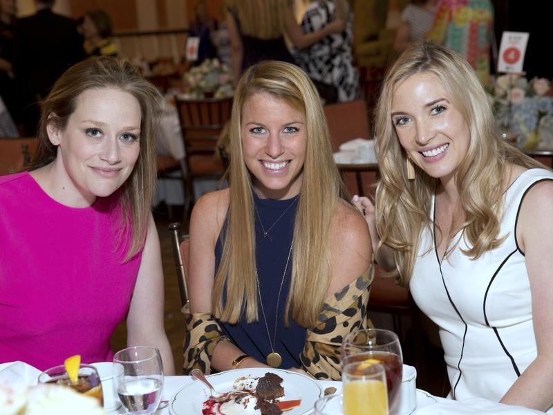 Houston, Spaulding for Children luncheon, May 2017, Molly Johnson, Presley Lumpkins, Elizabeth Wilhite
