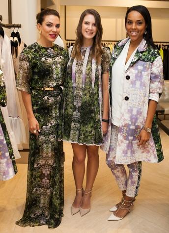 Anna-Sophia van Zweden, Kira Plastinina, Jessica Nowitzki, LUBLU Spring Summer Event