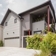 Houzz Houston Heights modern home tour exterior