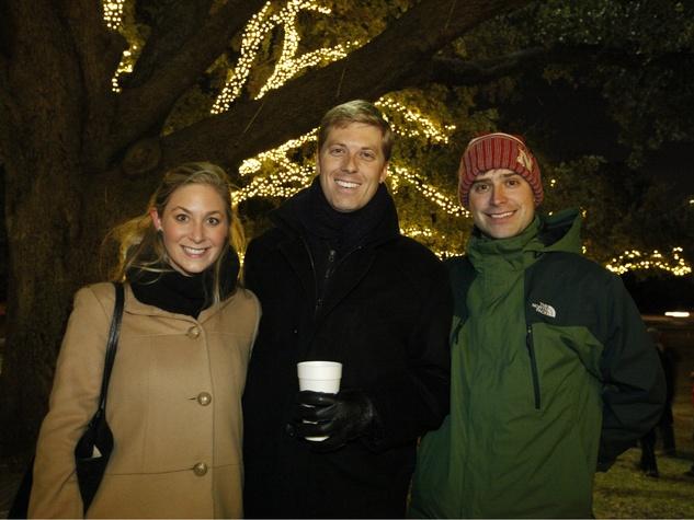 Emily Duquesnay, Preston Walhood, Alex O'Neil, Light Up Lee Park