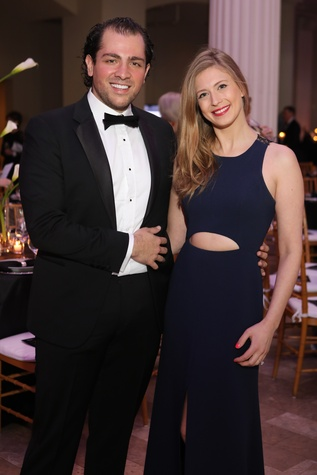 Guillermo Sierra and Princess Tatiana Galitzine at Stages Gala 2017