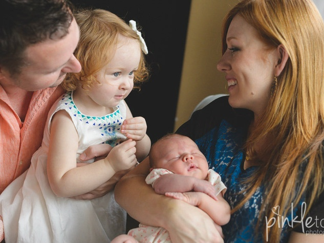 Ashley Clawson and family