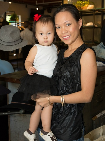 Khanh Nguyen and her daughter Nha-Vy, 16 months old