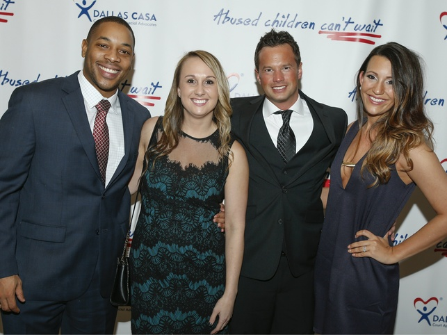 Jelani Reynolds, Breanne Vincent, Marc McCain and Kayla McCain