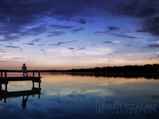 White Rock Lake in Dallas