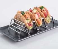 RA Sushi's Poke Tacos