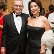 Richard Bone and Mary Cullen at the MFAH Latin American Experience November 2013