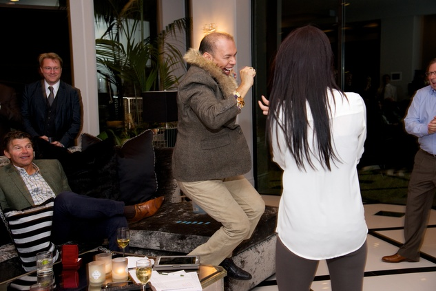 152 Alex Martinez at Theresa Roemer first charity closet party November 2014