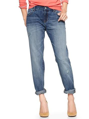 the gap 1969 destructed sexy boyfriend jeans