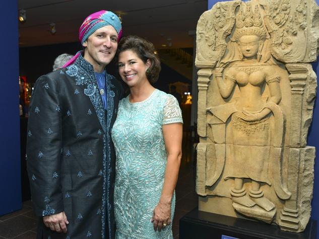 30 David and Wendi Grimes at the MFAH Grand Gala Ball October 2013