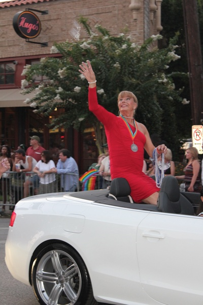 Gay Pride Parade, Female Grand Marshall, Jenifer Pool, June 2012