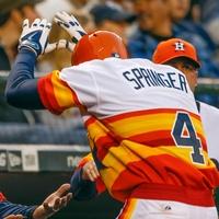 George Springer Bo Porter Astros