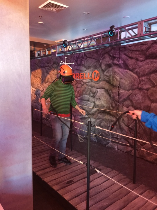 Pauley Shore goes through the Oculus Rift at Sundance Film Festival