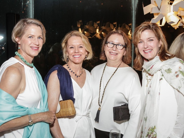 Katy Prairie Conservancy Gala 2015 Margaret Pierce, Mimi Kerr, Adele Bentsen, Carrie Pepi
