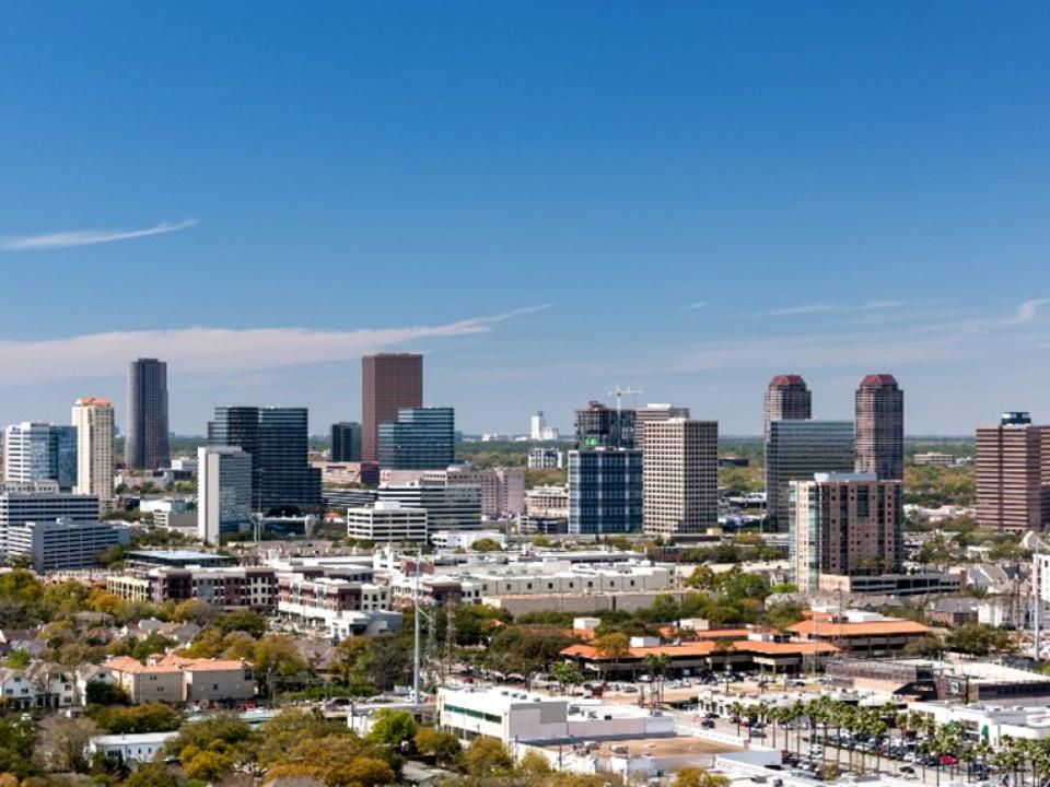 Houston, Highrise apartment views_May 2015, 2929 Weslayan