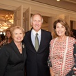 Ginger Blanton, from left, Jim Crownover and Lilly Andress at the Foundation for Teen Health luncheon October 2014