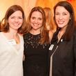 BraveLove's Founder Ellen Porter, Hostess Elisa Summers, BraveLove's Director of Operations Laura Anderson
