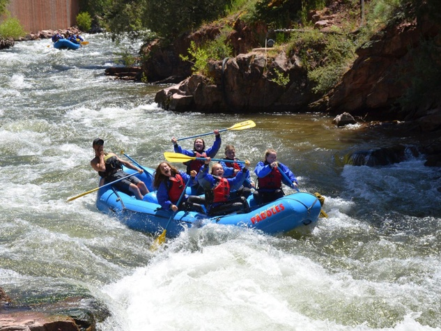 Blazing Adventures white-water rafting Aspen